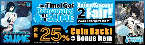 That Time I Got Reincarnated as a Slime Anime Season 2 Fair!