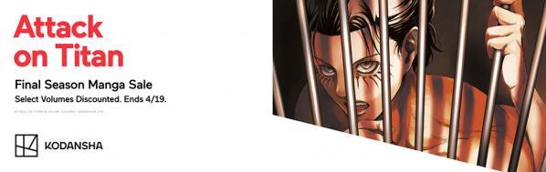 Kodansha promotion: Attack on Titan
