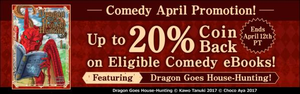 Comedy April Promotion