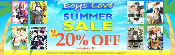 Media Do Boys Love SUMMER SALE