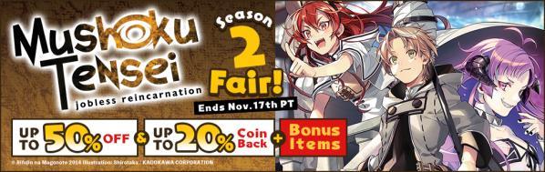 Mushoku Tensei Anime Season 2 Fair!