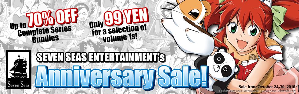 Seven Seas Entertainment 12th Anniversary Sale!