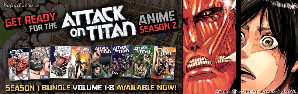 Attack on Titan Season 1 bundle