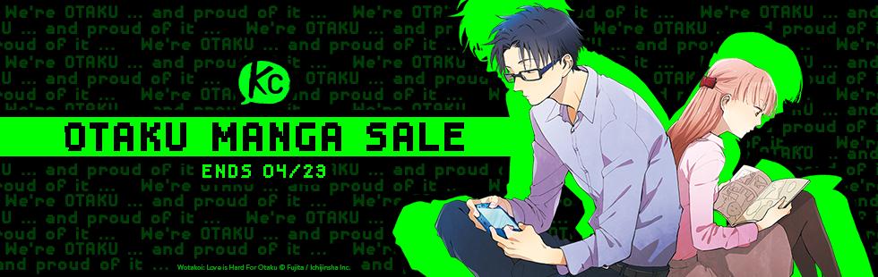 Kodansha Comics Otaku Manga Sale
