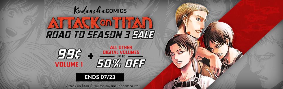 Attack on Titan Season 3 Sale
