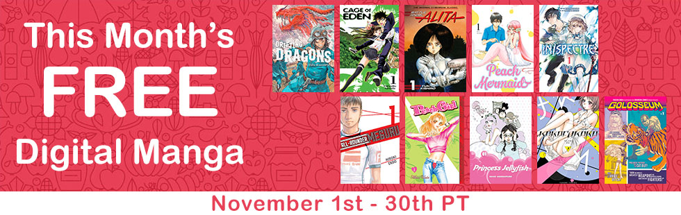 November Free Digital Manga