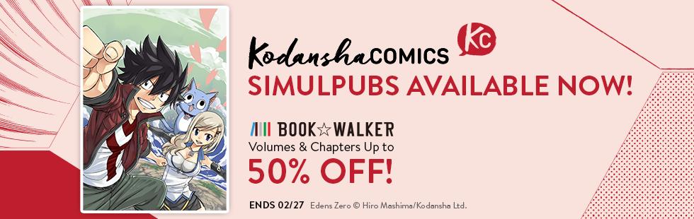 Kodansha Simulpub Launch