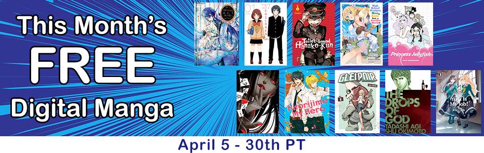 April Free Manga Sampling