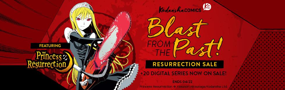 Kodansha Comics: Blast from the Past