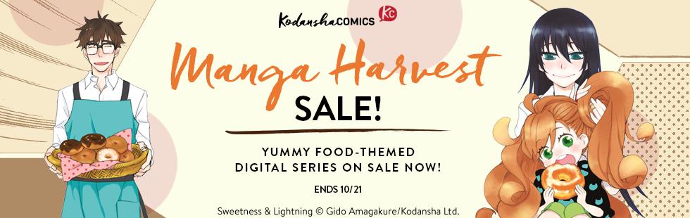 Kodansha Comics: Manga Harvest sale