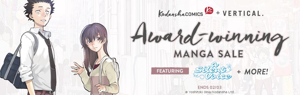 Kodansha Comics Award-winning Manga Sale