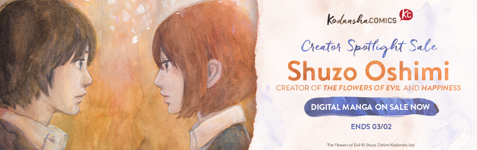 Creator Spotlight: Shuzo Oshimi Sale