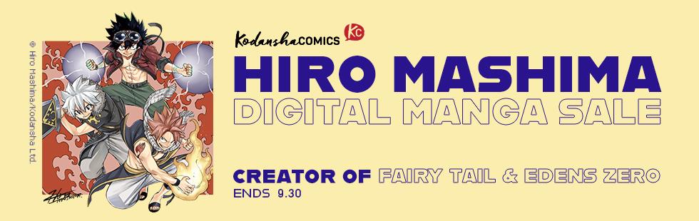 Kodansha promotion: Hiro Mashima spotlight