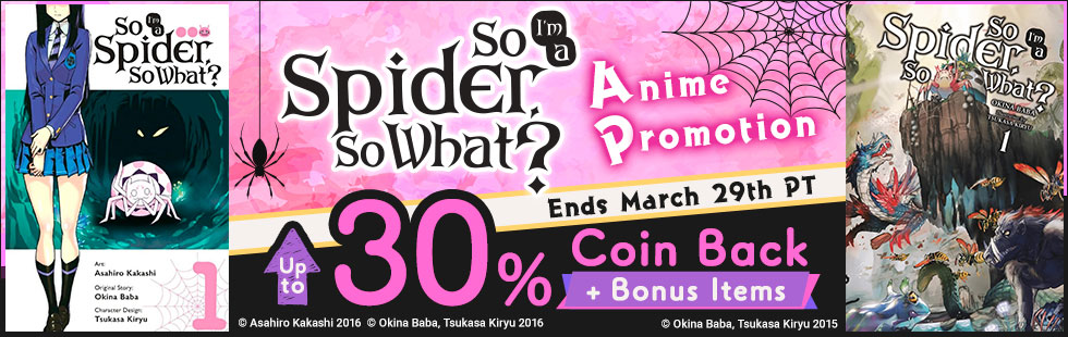 So I'm a Spider, So What? Anime Promotion