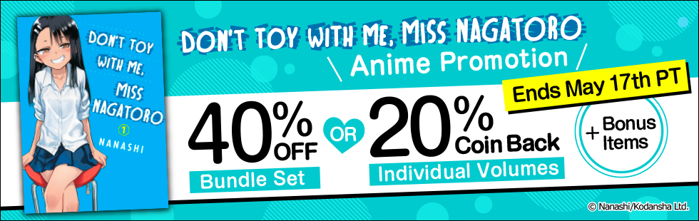 Don't Toy With Me, Miss Nagatoro Anime Promotion