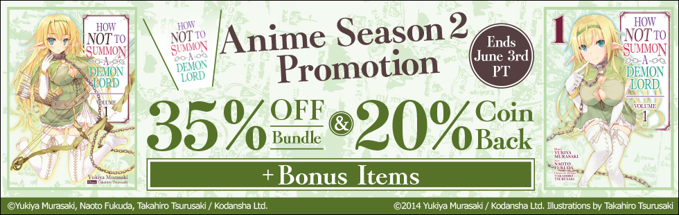 How Not To Summon A Demon Lord Anime Season 2 Promotion