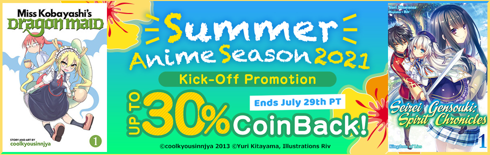 Summer Anime Season 2021 Kick-Off Promotion