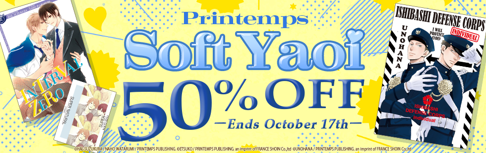 Media do promotion: Printemps Soft Yaoi Sale