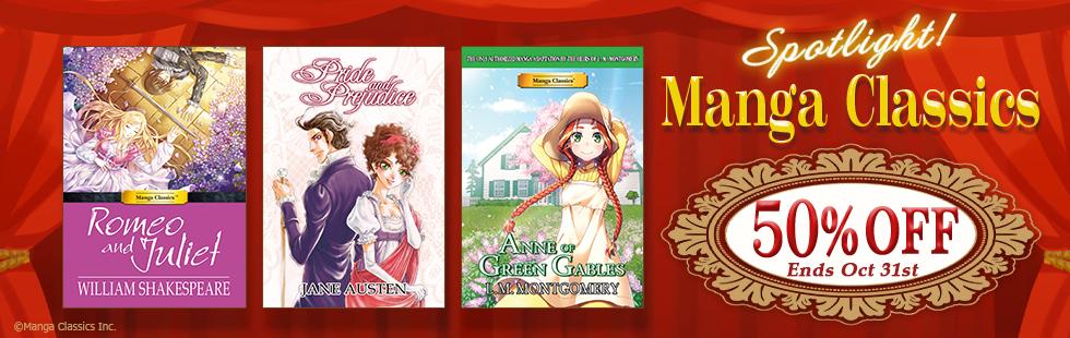 Media do promotion: Spotlight Manga Classics