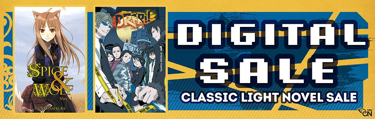 Yen Press Digital Sale: Classic Light Novel!