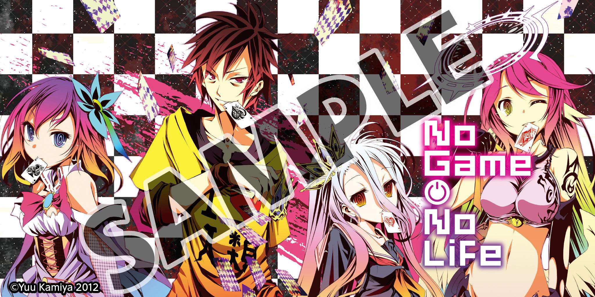 """""""No Game No Life, Vol. 1"""" (Light Novel) Bookshelf Cover Image"""