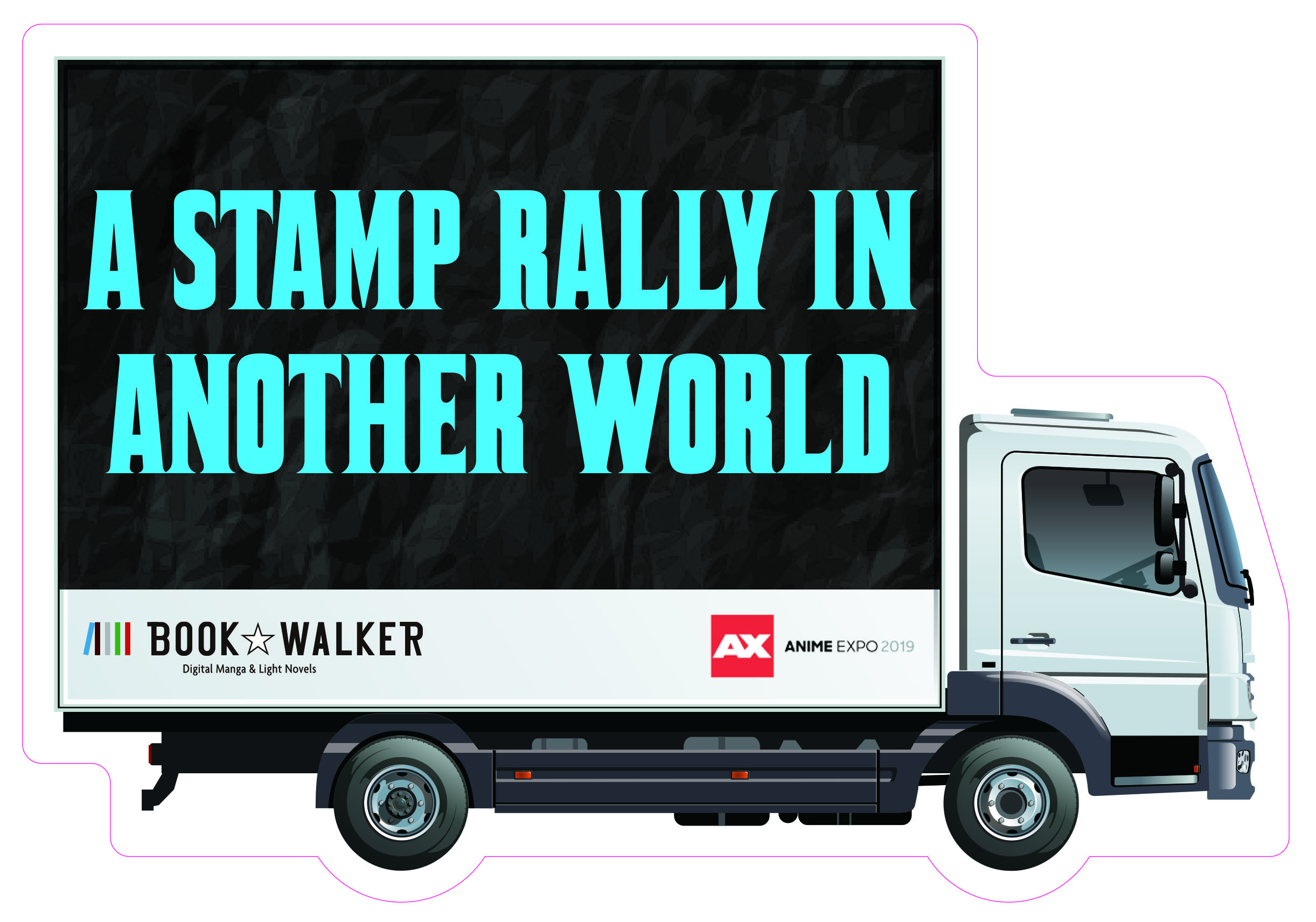 BOOK☆WALKER Stamp Rally at Anime Expo