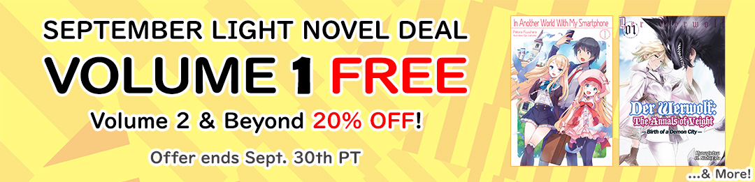 Volume 1 FREE, Volume 2 & Beyond 20% OFF!