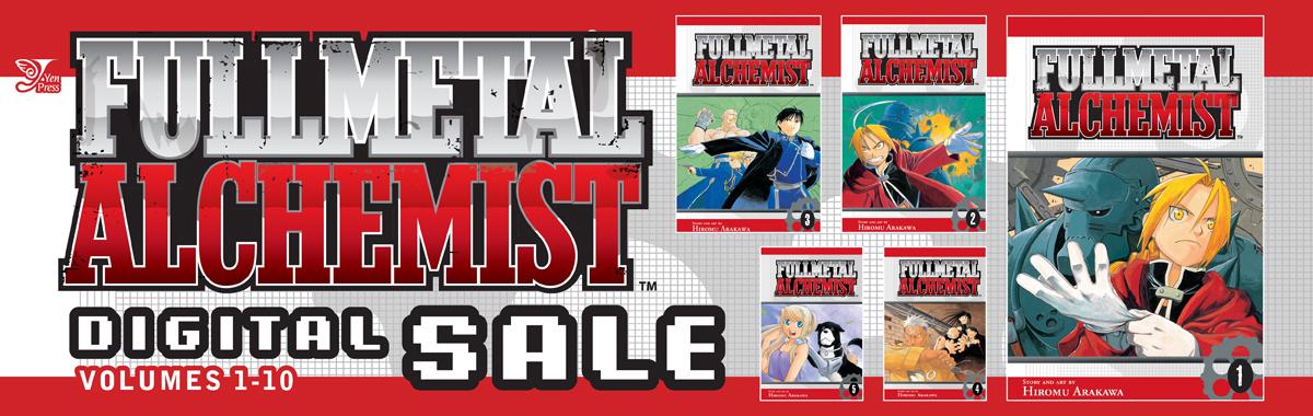 Yen Press Digital Sale: Fullmetal Alchemist