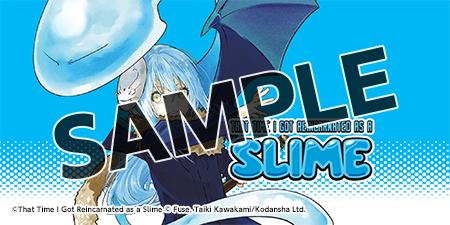 """That Time I Got Reincarnated as a Slime Manga"" Bookshelf Cover Image"