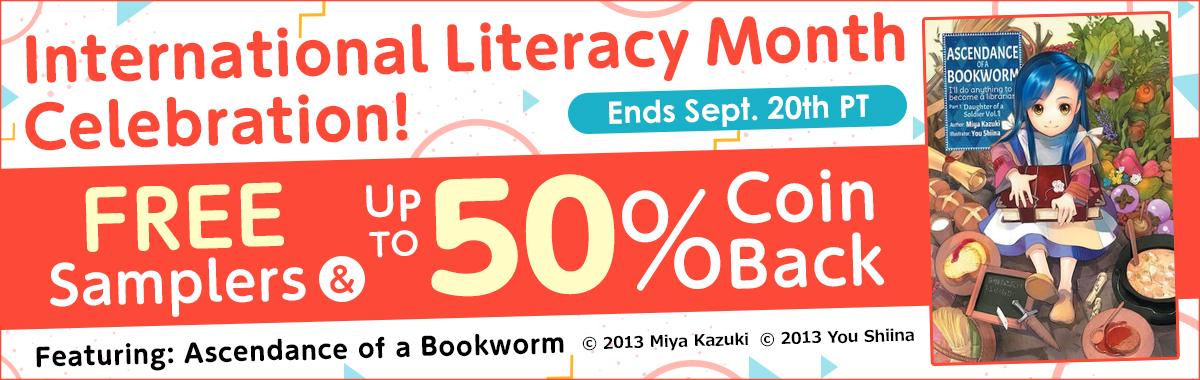 International Literacy Month Celebration!