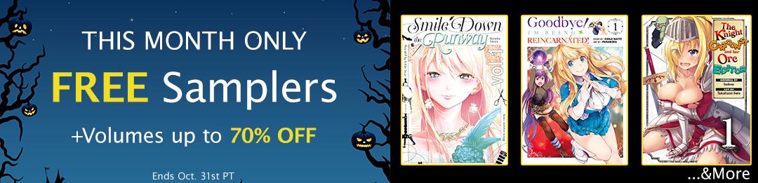 October FREE Manga