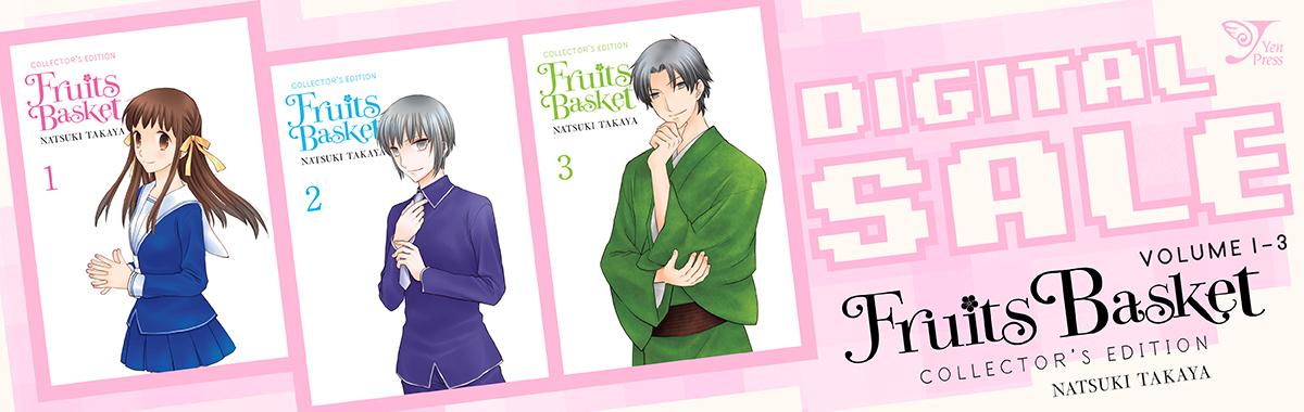 Yen Press Digital Sale: Fruits Basket Vol.1-3