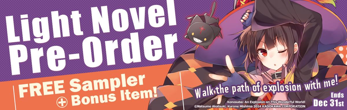 Konosuba: An Explosion on This Wonderful World Pre-Order Campaign!