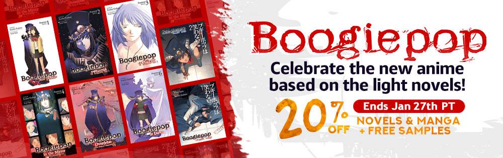 Boogiepop Light Novel & Manga Campaign