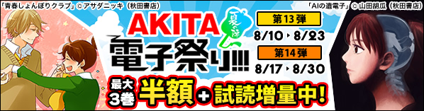 AKITA電子祭 夏の陣 13弾&14弾