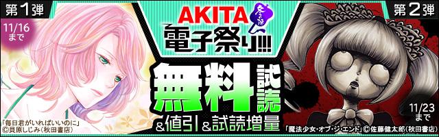 【AKITA電子祭り 冬の陣】第1弾&第2弾