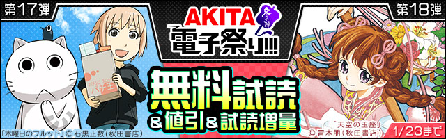 【AKITA電子祭り 冬の陣】第17弾&第18弾
