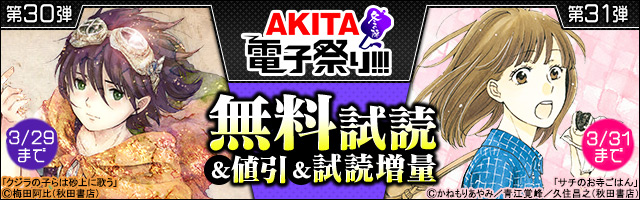 【AKITA電子祭り 冬の陣】第30弾&第31弾