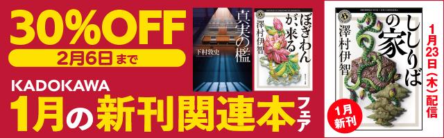 KADOKAWA1月新刊&関連本フェア