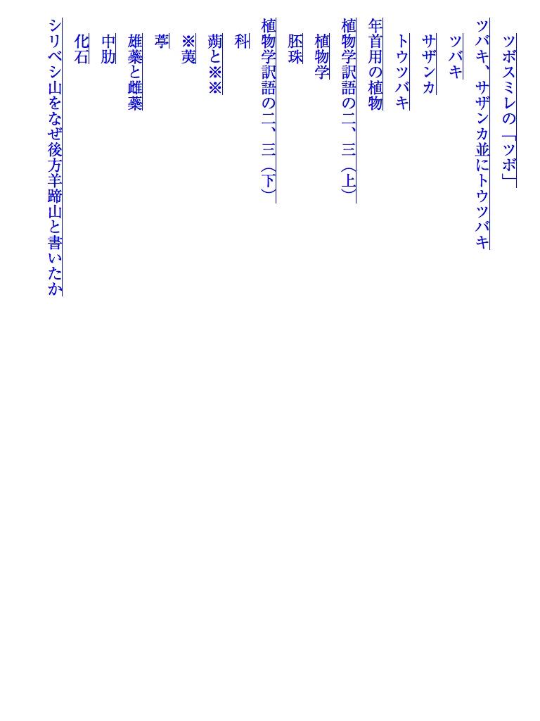 植物記-電子書籍