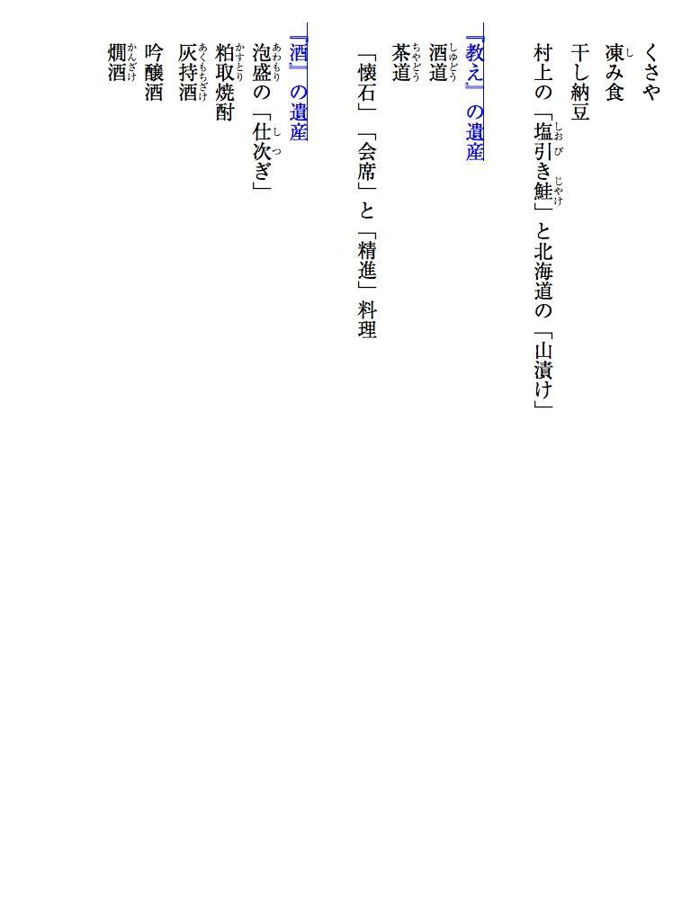 小泉教授が選ぶ「食の世界遺産」日本編-電子書籍