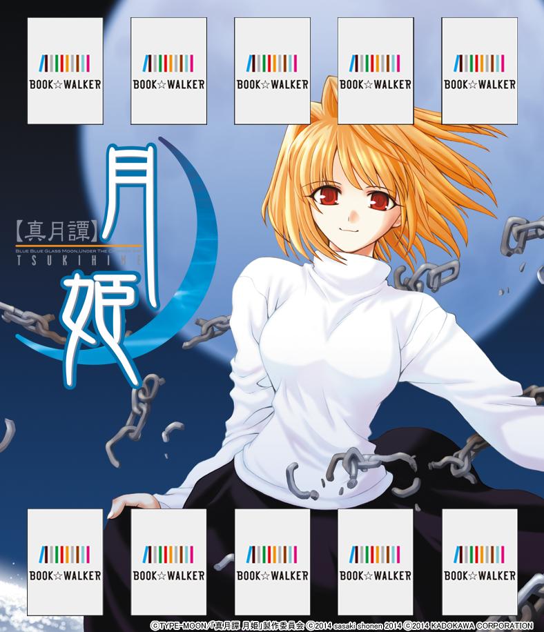 『真月譚 月姫(1)』きせかえ本棚【購入特典】-電子書籍