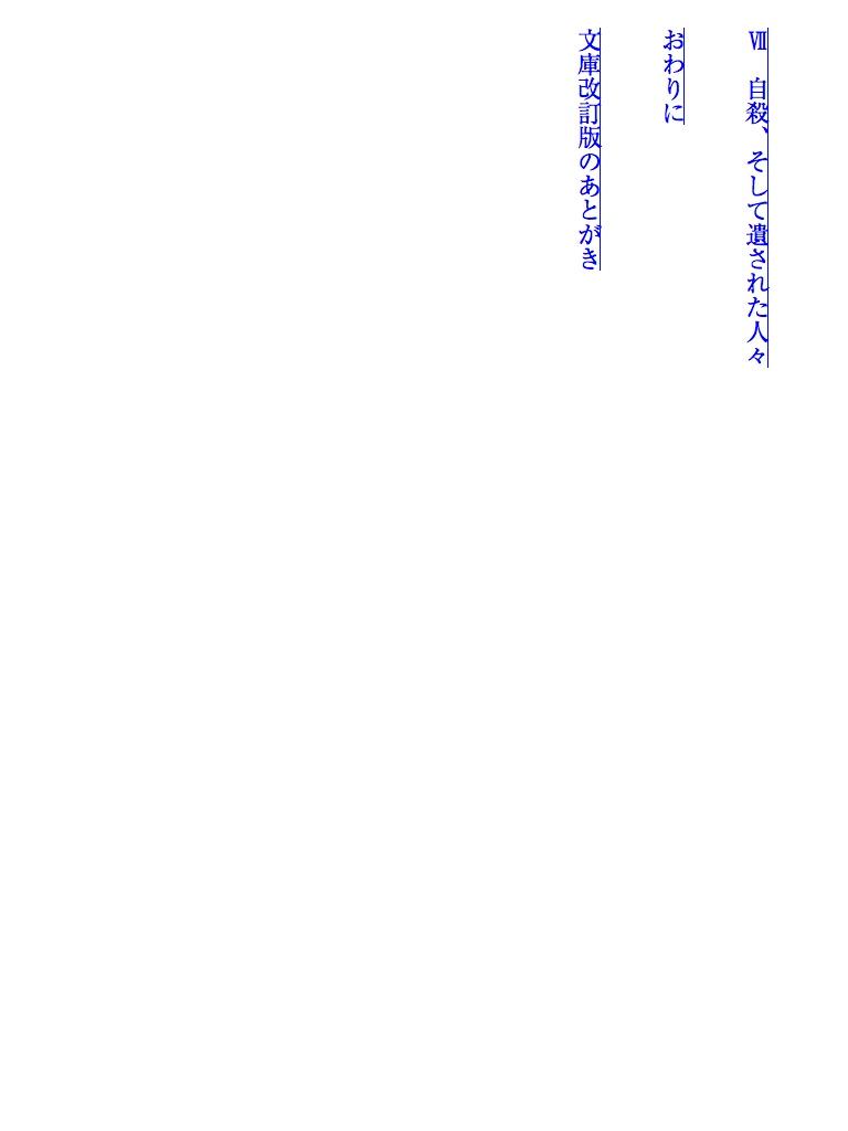 自殺のサインを読みとる 改訂版-電子書籍