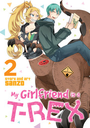 My Girlfriend is a T-Rex Vol. 02