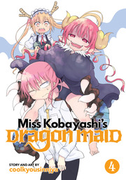 Miss Kobayashi's Dragon Maid Vol. 4