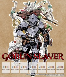 Goblin Slayer, Vol. 1 (Manga): Bookshelf Skin