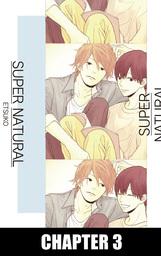 SUPER NATURAL (Yaoi Manga), Chapter 3