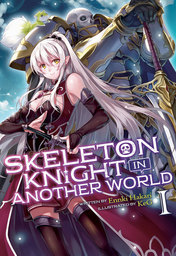 Skeleton Knight in Another World Light Novel