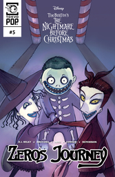 Disney Manga: Tim Burton's The Nightmare Before Christmas: Zero's Journey Issue #5