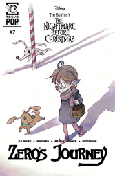 Disney Manga: Tim Burton's The Nightmare Before Christmas - Zero's Journey Serial
